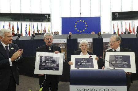 Remise du prix Sakharov